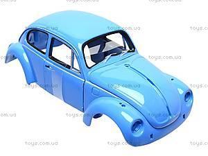 Сборная модель машинки Volklswagen Beetle, 22436KB, магазин игрушек
