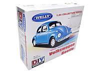 Сборная модель машинки Volklswagen Beetle, 22436KB, фото