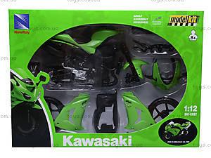 Сборная модель мотоцикла Kawasaki, 42445A, отзывы