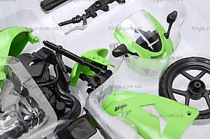 Сборная модель мотоцикла Kawasaki, 42445A, игрушки