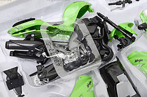 Сборная модель мотоцикла Kawasaki, 42445A, детские игрушки