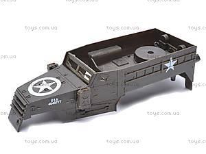 Сборная модель танка M16, 61565, детские игрушки