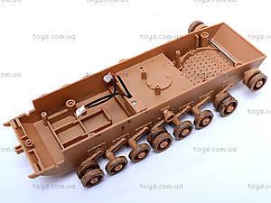 Сборная модель танка M1A1, 61395, игрушки