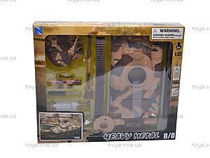 Сборная модель танка T80, 61505, игрушки