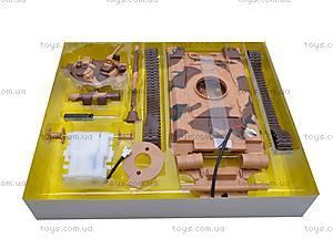 Сборная модель танка T80, 61505, детские игрушки