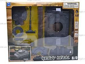 Сборная модель танка TIGER 1, 61525, магазин игрушек