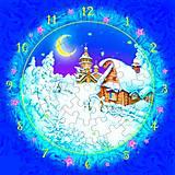 Сборная модель из картона «Часы Рождественская ночь», 126-12, детские игрушки