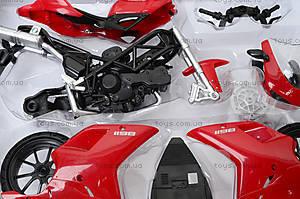 Сборный мотоцикл Ducati 1198, 57145A, игрушки