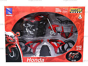 Сборный мотоцикл Honda, 43145, игрушки