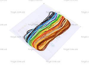 Набор для вышивания «Щенок с цветком», 4805-а, купить