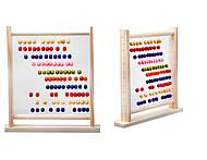 Детские деревянные счеты, 171823, фото