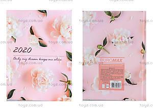 Ежедневник датированный 2020 SPOLETO, A5, розовый, BM.2168-10
