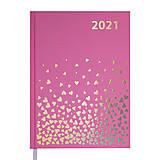 Ежедневник датированный 2021  Moderna A5 336 с (розовый), BM.2172-10, цена