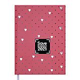 Ежедневник датированный 2021 Save A5 (персиковый) 336 страниц, BM.2167-46, игрушки