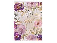 Ежедневник датированный 2022 Elegant A5 на 336 страниц Кремовый, BM.2177-49, купить
