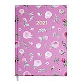 Ежедневник датированный 2021 Buromax Provence А5 336 с. Розовый, BM.2161-10, Украина
