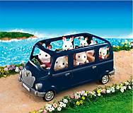 Семейный автомобиль на 7 персон синий Sylvanian Families, 5274, тойс