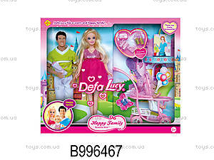 Семья куклы Defa , 8088