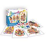 Рисование акварельными красками «Пряничные домики», 5 цветов, 694, купить