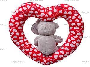 Сердце с медвежонком, AB9193B/20, купить