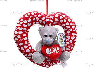 Плюшевое сердце с медведем, AB9193A15, купить