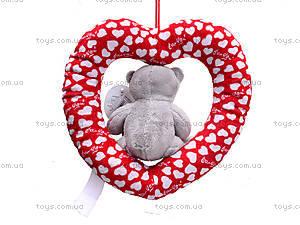 Плюшевое сердце с медведем, AB9193A15, фото