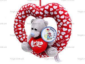 Плюшевое сердце с медведем, AB9193A15, цена