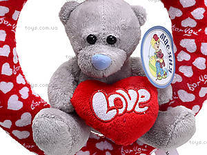 Игрушечное сердце с медвежонком, AB9193C25, отзывы