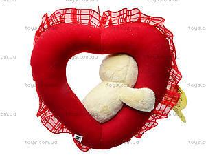 Мягкая игрушка «Сердечко с цыпленком», К086ТК, купить