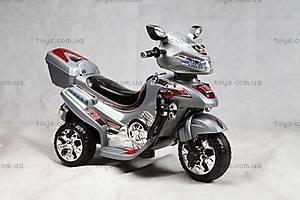 Серый мотоцикл, аккумуляторный, C031 СЕР