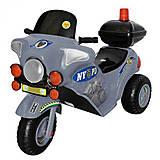 Серый полицейский электромотоцикл, 372_Серый, отзывы