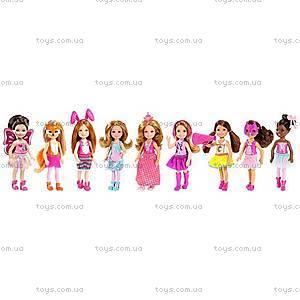 Кукла-сестричка Barbie «Челси и ее друзья», CGF39, купить