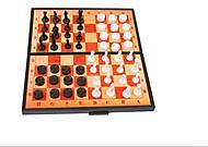 Шахматно - шашечный набор, 5197, іграшки