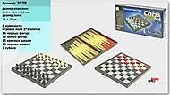 Шахматный набор для игры, 3038, фото