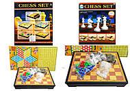 Шахматный набор 3 в 1, 477F-3, фото