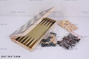 Шахматы из дерева с нардами, 560A (B15269), купить