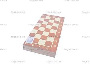 Шахматы из дерева с нардами, 560A (B15269), фото