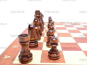 Шахматы из дерева с нардами, 560A (B15269), детские игрушки