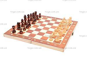 Шахматы из дерева с нардами, 560A (B15269)