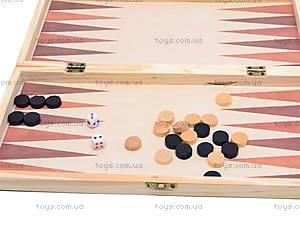 Шахматы из дерева с нардами, 560A (B15269), магазин игрушек