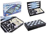 Настольные шахматы «LEON», 8899, toys.com.ua