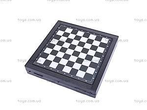 Шахматы магнитные 5в1, 6852, игрушки