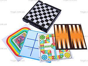 Шахматы магнитные и 10 игр, 7717