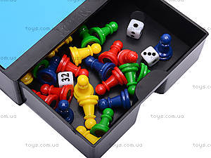 Шахматы магнитные и 10 игр, 7717, фото