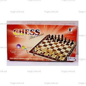 Шахматы игровые в коробке, 03428
