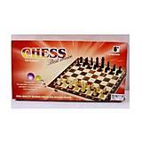 Шахматы игровые 3в1, 03428, фото