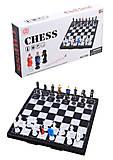 Шахматы магнитные, с фигурками , D06, тойс