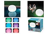 Надувной плавающий фонарь для бассейна, 68695, купить