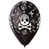 Шарик латексный «Пират», , купити