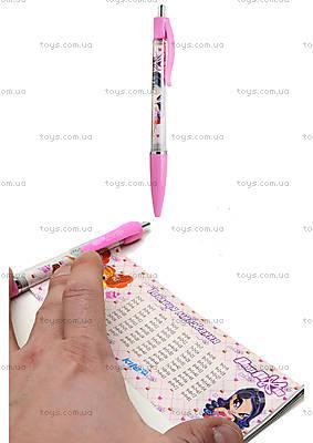 Шариковая ручка-шпаргалка Pop Pixie, PP13-034K